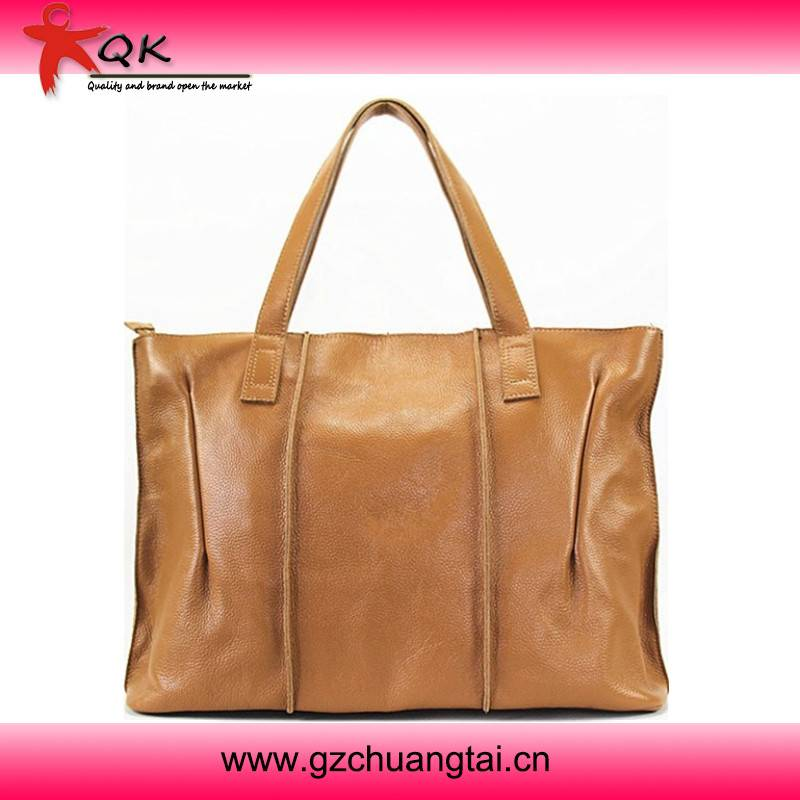 Genuine Leather Fashion And Casual Big Brand Shoulder Leather Bag