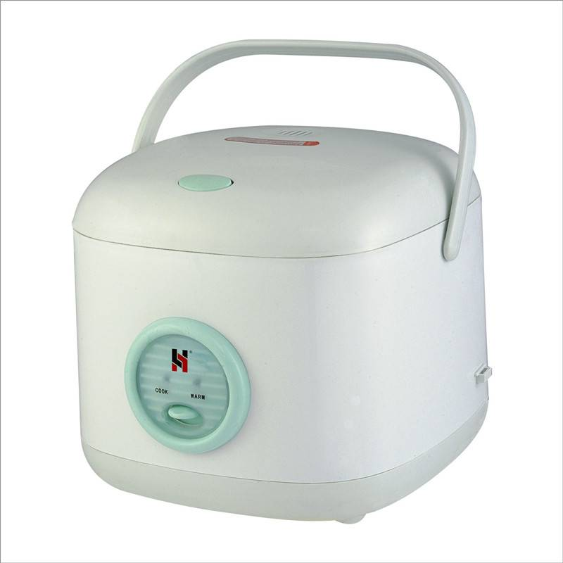 Square portable rice cooker
