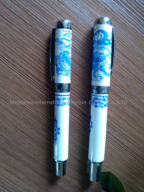Chinese classical ceramic pen