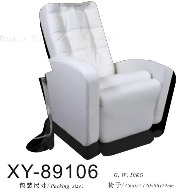 Salon Spa Pedicure Chair hiddenable sink XY-89106