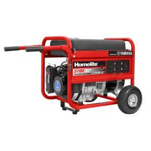 Homelite 5,700-Watt Gasoline Powered Portable Generator
