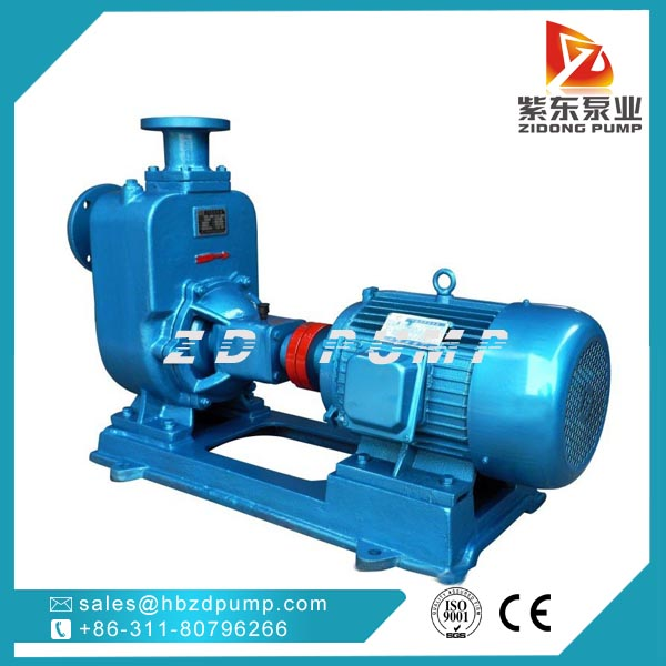 corrosion resistant ZH series self priming chemcial pump