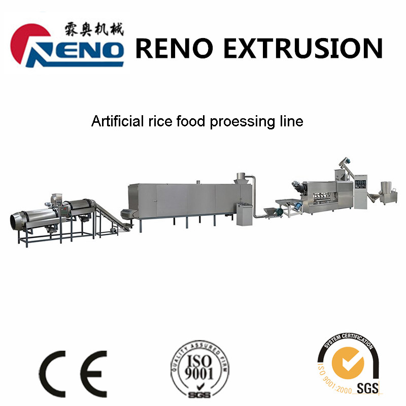 screw extruder artificial rice machinery
