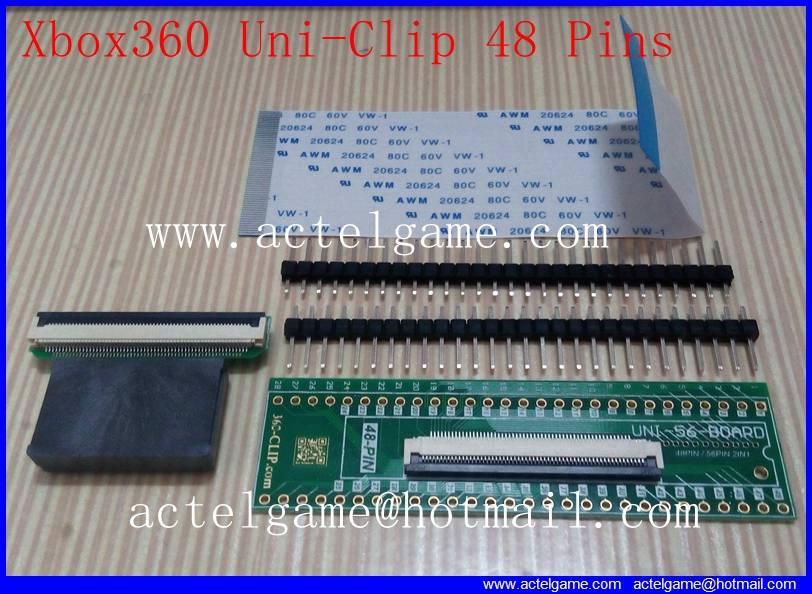 Xbox360 Uni-Clip 48 Pins 56 pins 360clip