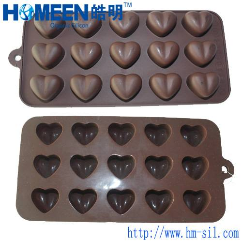 silicone chocolate mold Homeen welcome OEM cooperation