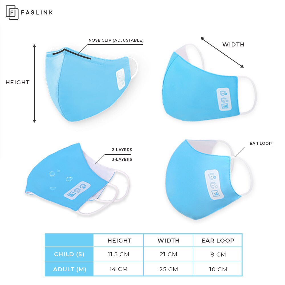 High Quality, Qualified Antibacterial Fabric Face Mask From Vietnam