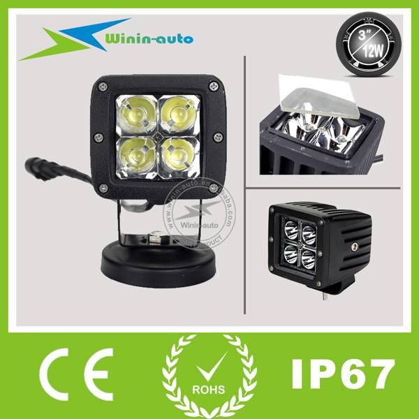 3'' 12W LED Cree Work Light Square Lamp 950LUMEN WI3122