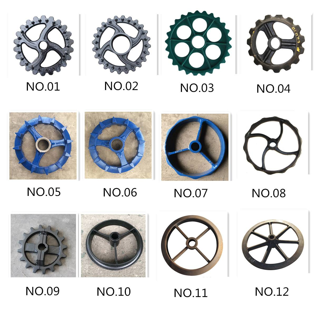Cambridge Roller Rings / Crosskill Rings / Breaker Rings