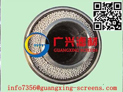 stainless steel dual-layer wedge wire wrapped water well screens