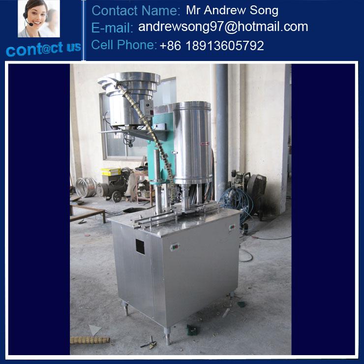 Aluminum capping machine