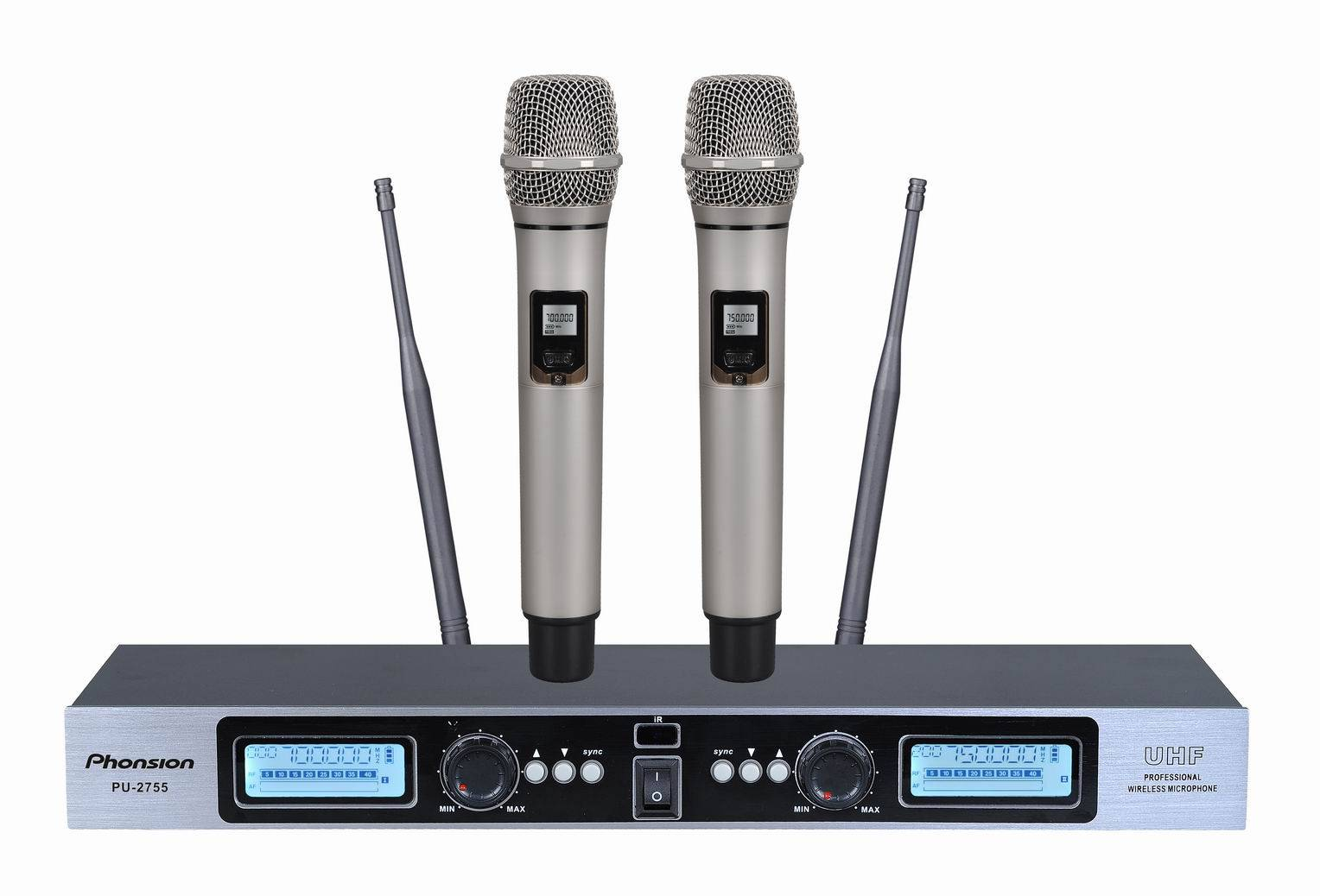 PU-2755 400 Frequency UHF Wireless Microphone