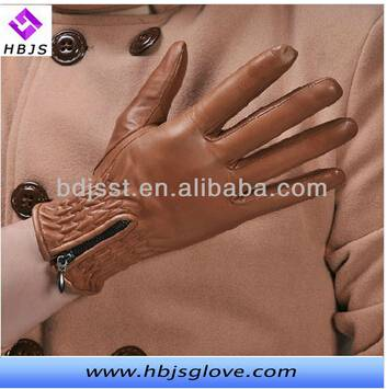New arrival hot sale mens leather driving gloves