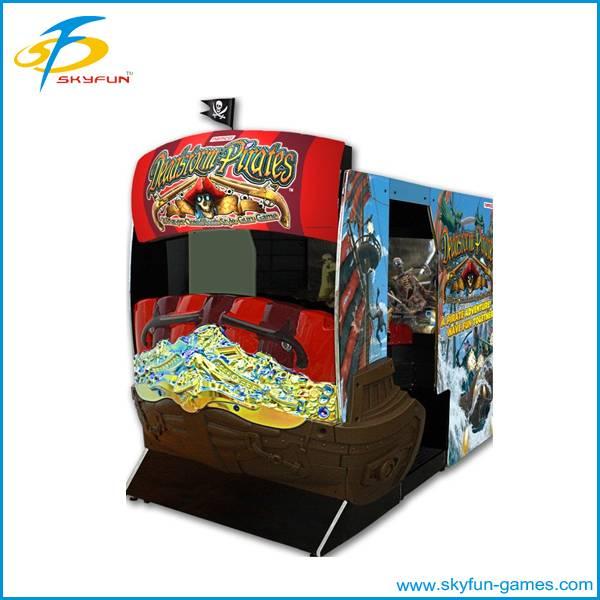 Full Motion Cabinet target shooting game machine