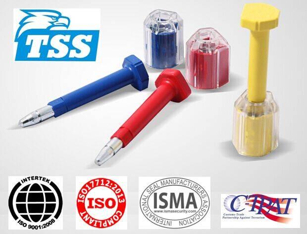 ISO 17712:2013 / C-TPAT Steel Bolt Seal Model No. TSS-BST01