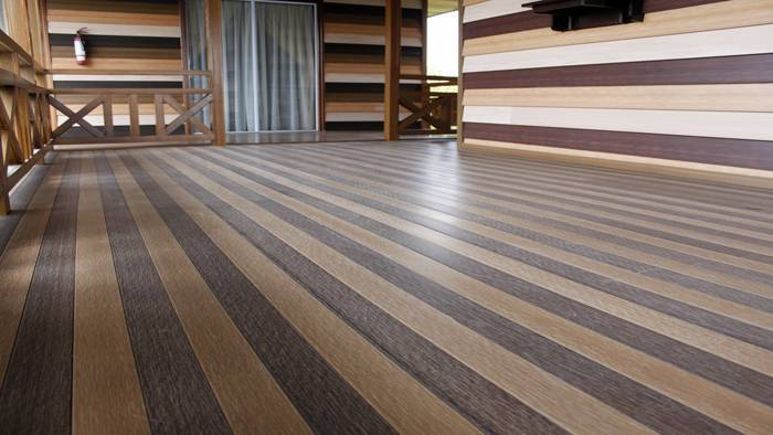 Wood Plastic composite outdoor Flooring