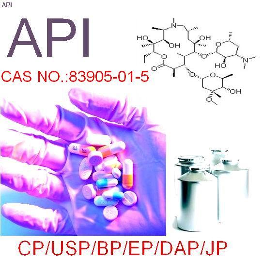 Top quality Azithromycin 99% CAS:83905-01-5