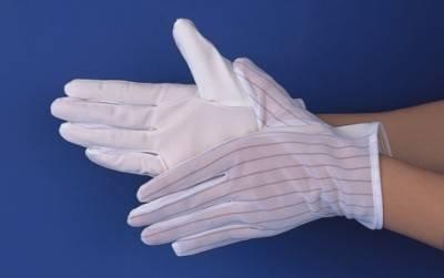 esd pu glove, anti-static pu palm glove