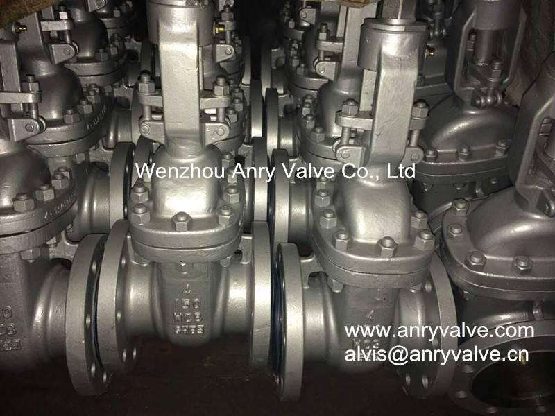 API Cast steel gate valve