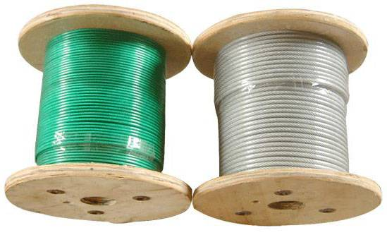 Plastic-Coated Wire Rope