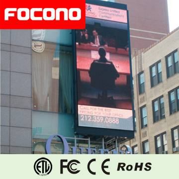 LED display screen board p10 or p8 outdoor (fixed or rental type)