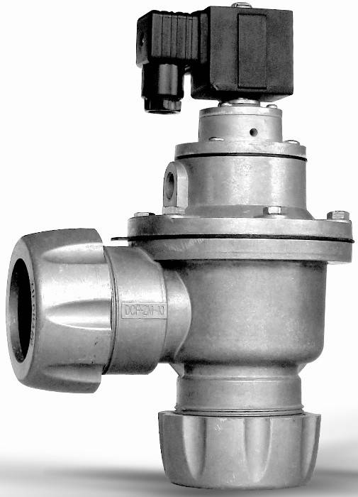 pulse valve for baghouse filter