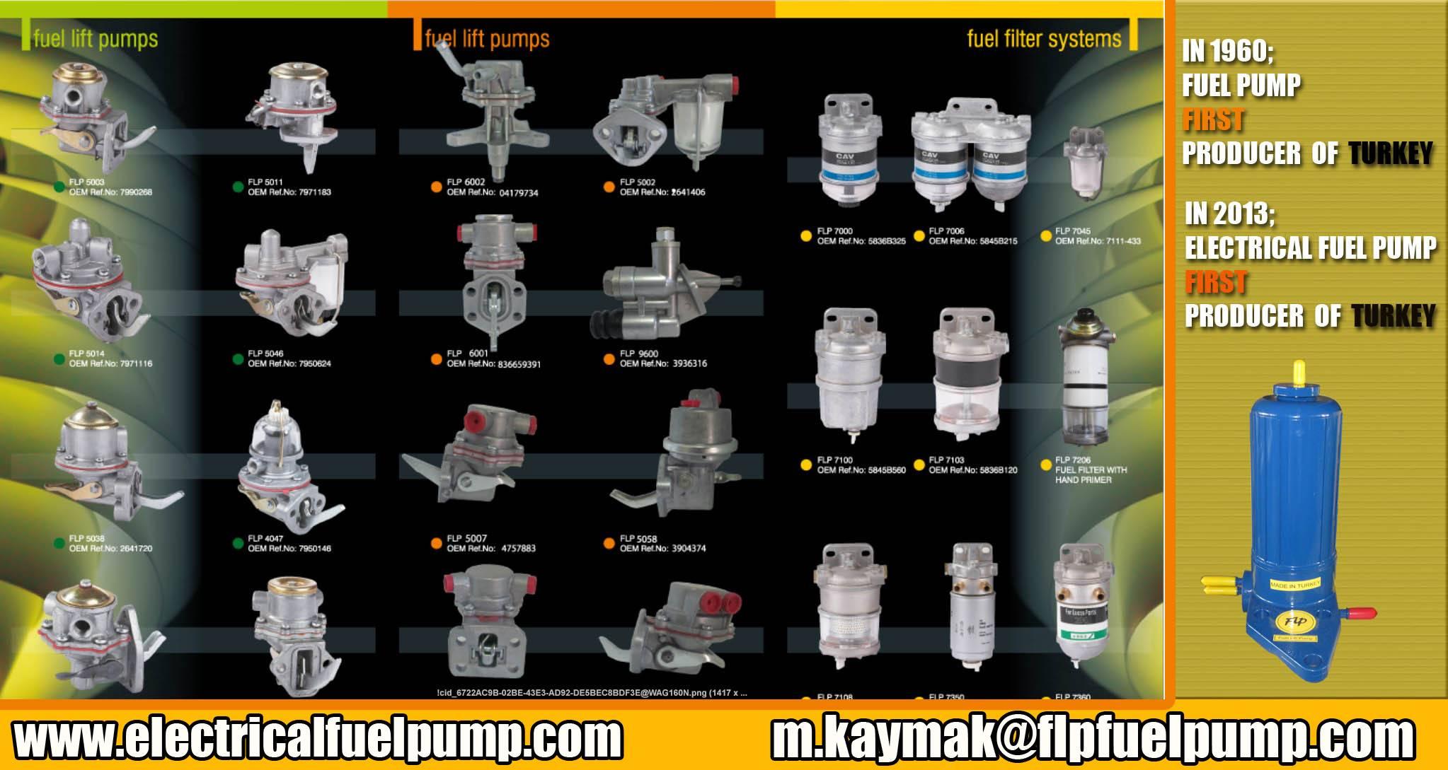 4132a018 electrical fuel pump