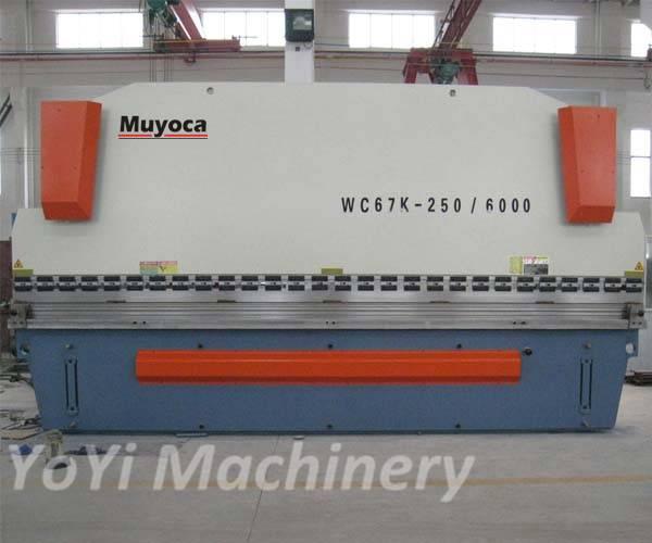 cnc press brake 6 meters