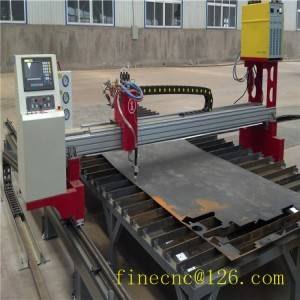 gantry cnc cutting machine for metal cutting