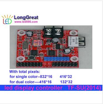 TF-SU led controller system supported led runing text