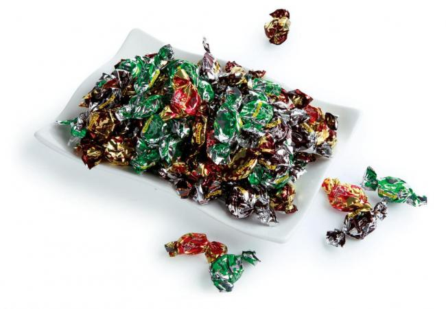 Metallic twist PET film for candy and beef jerky packaging
