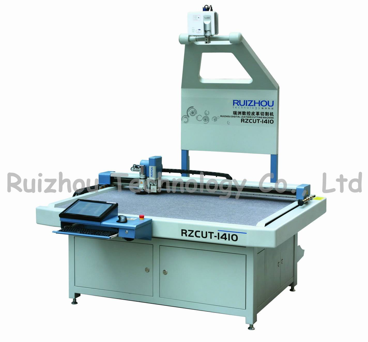 Multifunctional leather cutting system