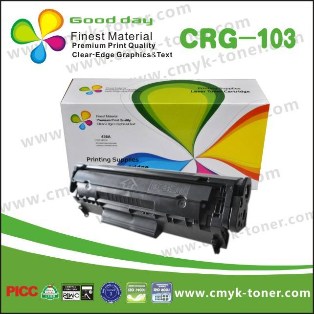 Canon CRG-103 Printer toner cartridge,Universal Model CRG-103/303/703 HP-Q2612A