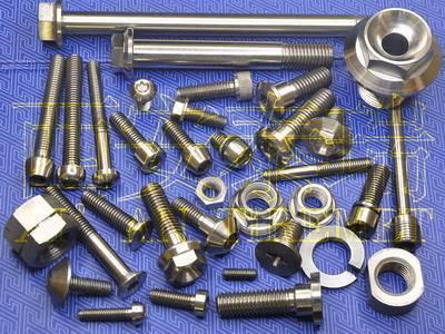 Titanium Fastener,Titanium Bolt,Titanium Nut,Titanium Washer,Titanium Screw