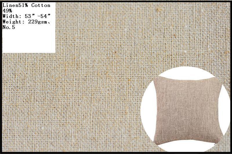 100% Linen, Linen/Cotton. Linen/viscose Fabric