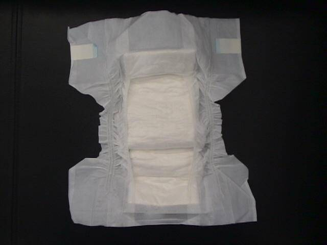disposable sleeping adult paper diaper