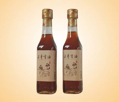 100% pure sesame of 227ml sesame oil