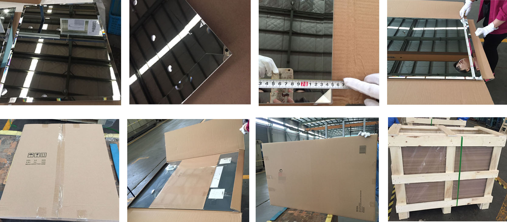Sell CE certification of 20-30mm bevel bathroom mirror