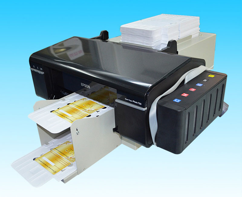 Desktop Inkjet L800 Print PVC Smart Card Printer