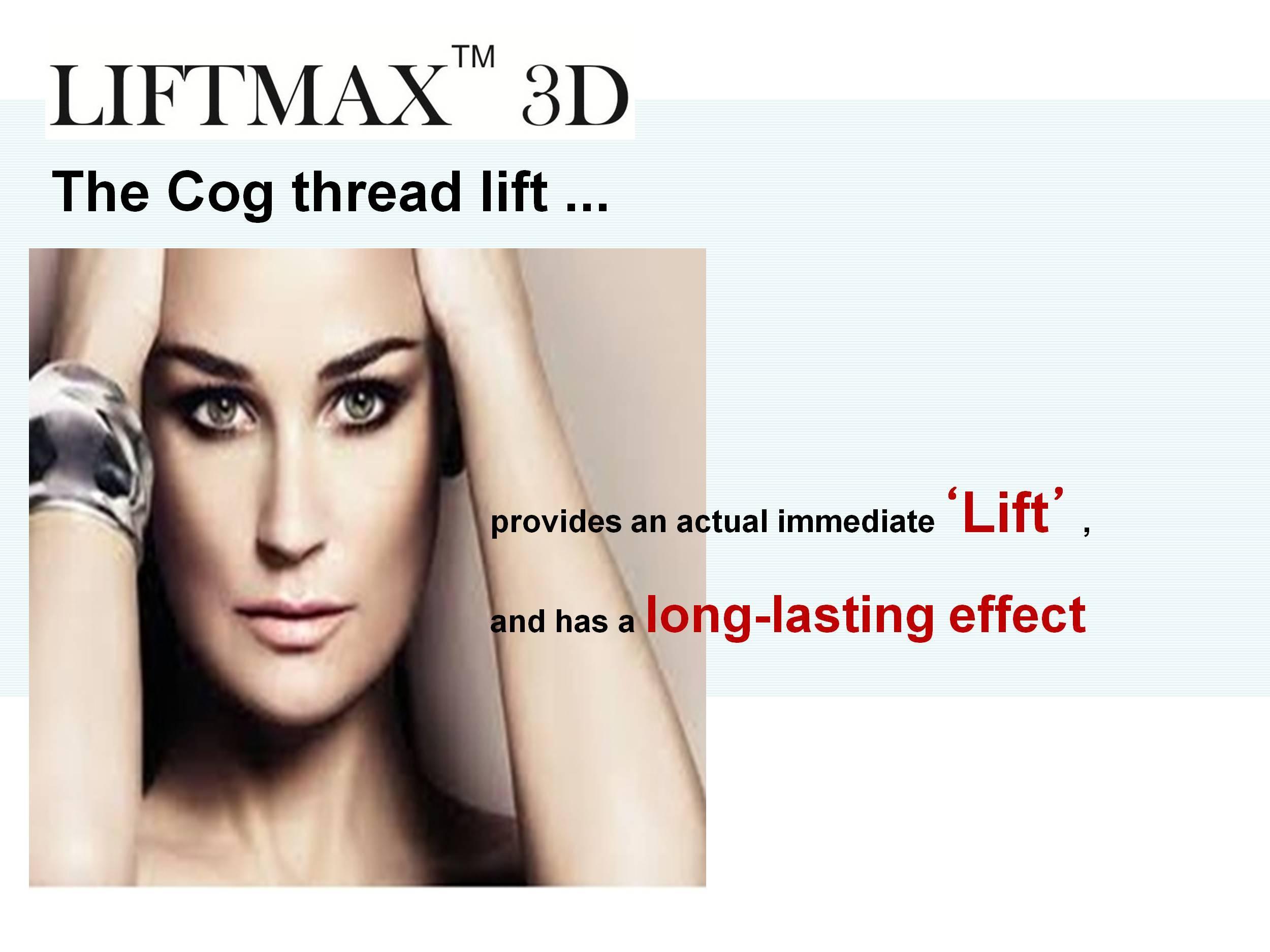 Anti-wrinkle LIFTMAX3D Cog Thread