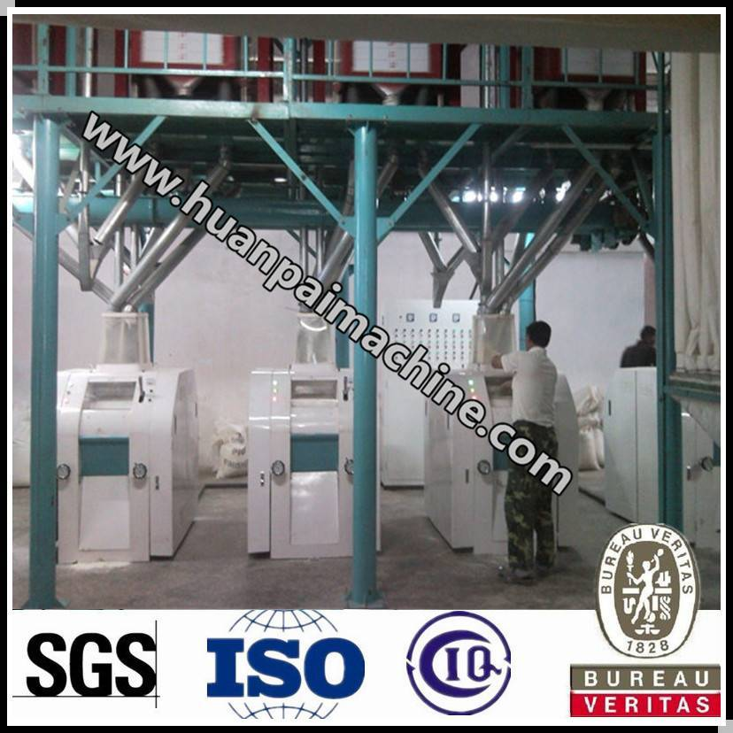 China made good quality wheat flour mill
