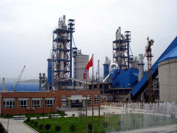cement rotary kiln production line with daily capacity of 5000ton