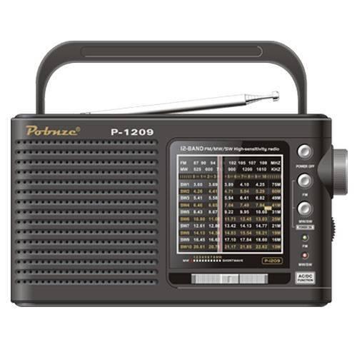 12-Band FM/MW/SW high sensitivity radio p-1209