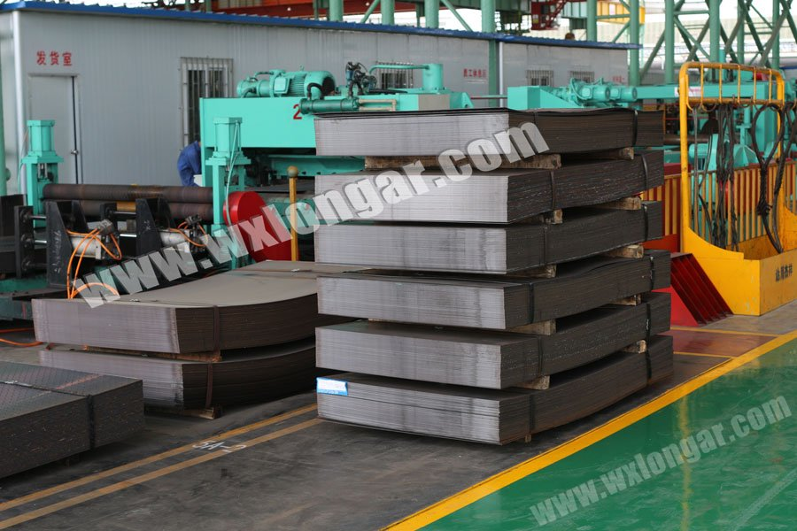 Middle Gage Steel Cut-To-Length Line