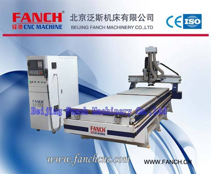 Offer Wood Double-station Drilling Cutting Machining Center