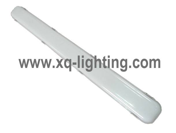 warehouse light IP65 led triproof light abs+pc housing
