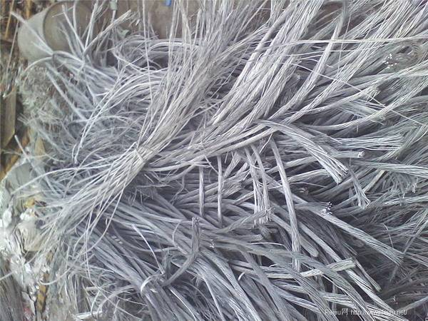 aluminum wire scrap 99.7%
