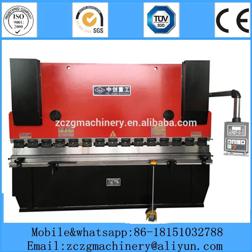 WC67K bending machine for iron plate DA41 system press break metal sheet