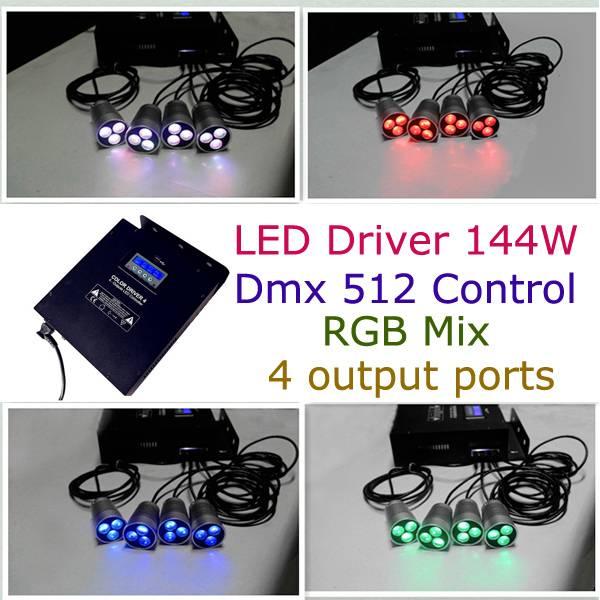 led dmx 512 conroller