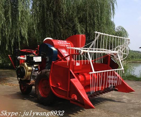Mini rice combine harvester 4LZ-0.6