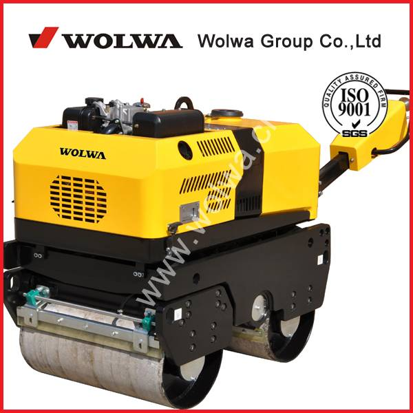 GNYL35C walking type double drum road roller